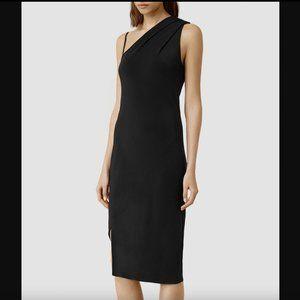 AllSaints Silk Precie Dress Size 4 / Small
